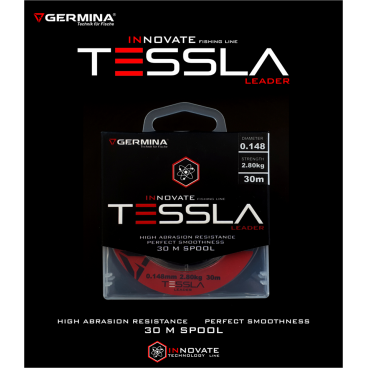 Valas pavadėliams Germina Tessla 0,128mm 2,1 kg