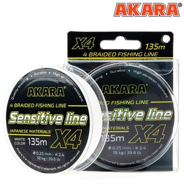 Pintas valas Akara Sensitive line X4 135 m
