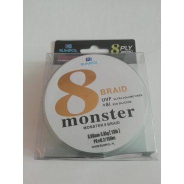 Pintas valas Monster PE 8 braid 150 m