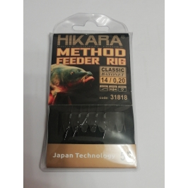 Hikara method feeder rig 14 nr